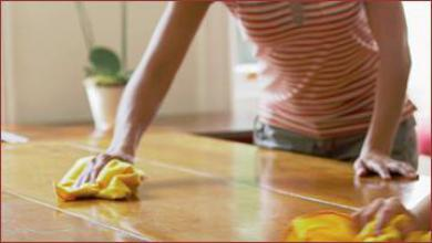 Dust off surfaces and keep your house clean - Cleaning Tips