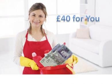 £40 worth of free cleaning service just for you! - Everest Clean Special Cleaning Offers