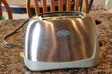 How to Clean your Steel Toaster  - Cleaning Tips